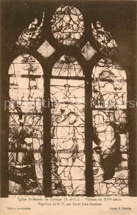 AK / Ansichtskarte Groslay Eglise St Martin de Groslay  Kat. Groslay