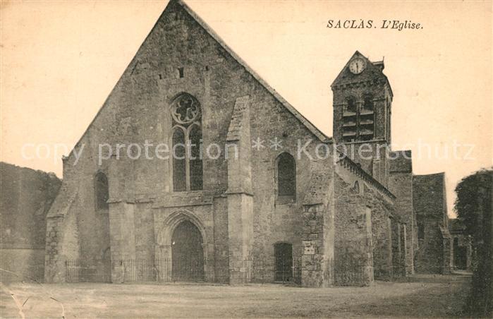 AK / Ansichtskarte Saclas Eglise Kat. Saclas