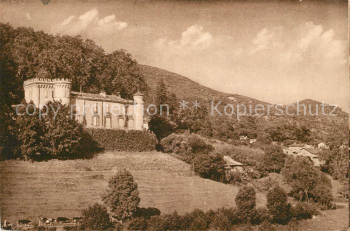 AK / Ansichtskarte Lasalle Station d'ete Chateau de Calviac Kat. Lasalle
