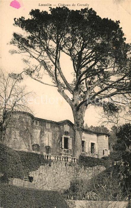 AK / Ansichtskarte Lasalle Chateau de Cornely Kat. Lasalle