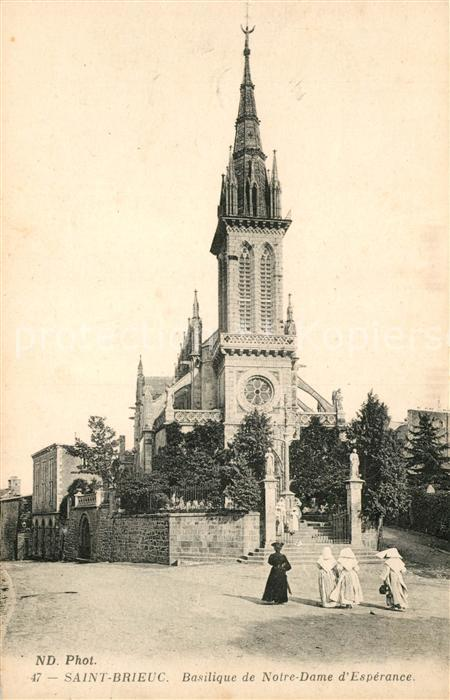 AK / Ansichtskarte Saint Brieuc Cotes d Armor Basilique de Notre Dame d Esperance Kat. Saint Brieuc