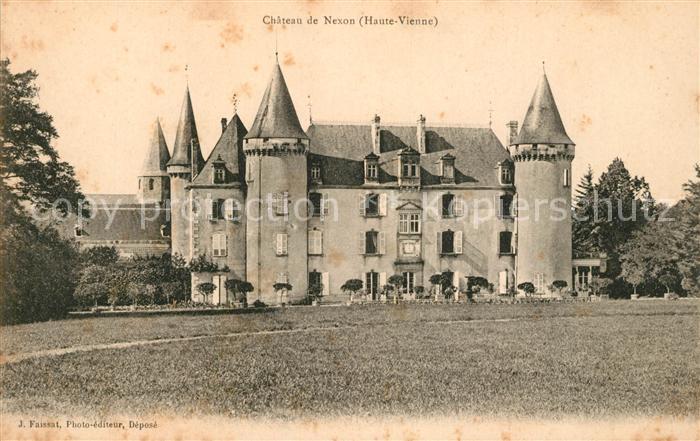 AK / Ansichtskarte Nexon Chateau de Nexon Kat. Nexon