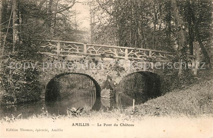 AK / Ansichtskarte Amillis Le Pont du Chateau Kat. Amillis