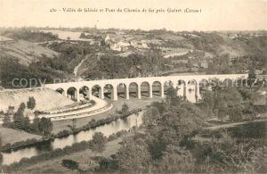 AK / Ansichtskarte Gueret Vallee de Glenic et Pont du Chemin de fer Kat. Gueret