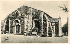 AK / Ansichtskarte La Creuse Toulx Sainte Croix Eglise Kat. La Creuse