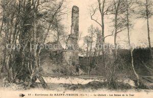 AK / Ansichtskarte Saint Yrieix la Perche Le Chalard Les Ruines de la Tour Kat. Saint Yrieix la Perche
