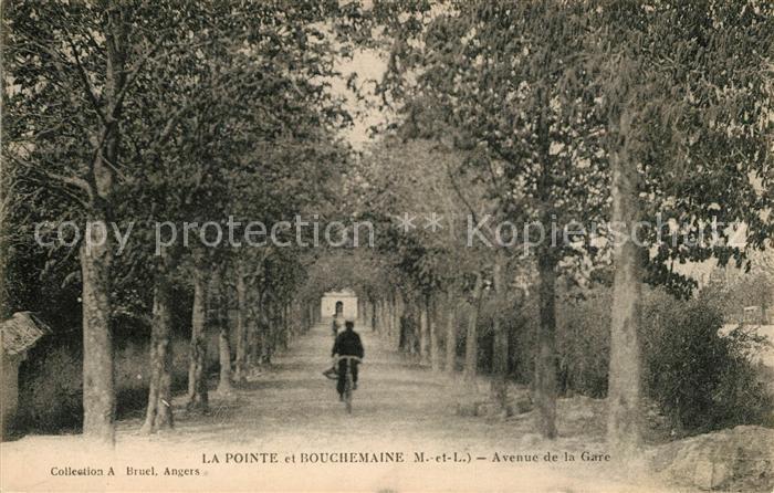 AK / Ansichtskarte La Pointe Bouchemaine Avenue de la Gare Kat. Bouchemaine