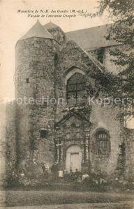 AK / Ansichtskarte Les Gardes Monastere de Notre Dame des Gardes Facade de l'ancienne Chapelle Kat. Saint Georges des Gardes