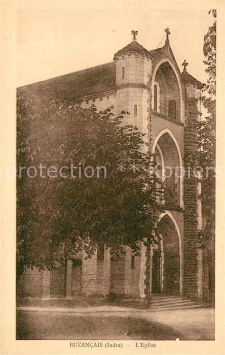 AK / Ansichtskarte Buzancais Eglise Kat. Buzancais
