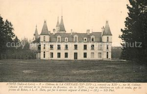AK / Ansichtskarte Athee sur Cher Chateau de La Chenaie Kat. Athee sur Cher