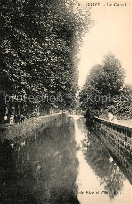 AK / Ansichtskarte Brive Correze Le Canal Kat. Correze