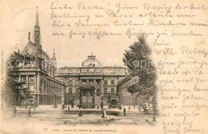 AK / Ansichtskarte Paris Palais de Justice et Sainte Chapelle Kat. Paris