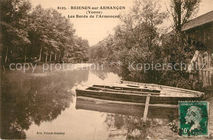 AK / Ansichtskarte Brienon sur Armancon Bourgogne Les Bords de L`Armancon Kat. Brienon sur Armancon