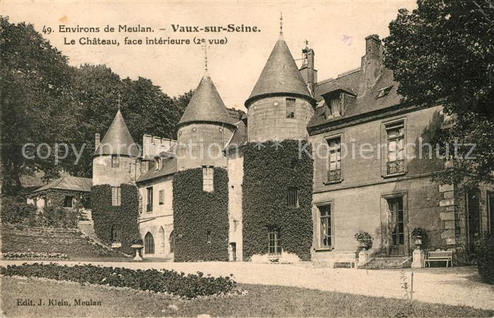 AK / Ansichtskarte Vaux sur Seine Chateau  Kat. Vaux sur Seine