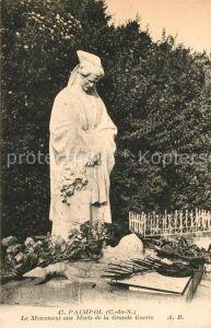 AK / Ansichtskarte Paimpol Monument aux Morts de la Grande Guerre Kat. Paimpol