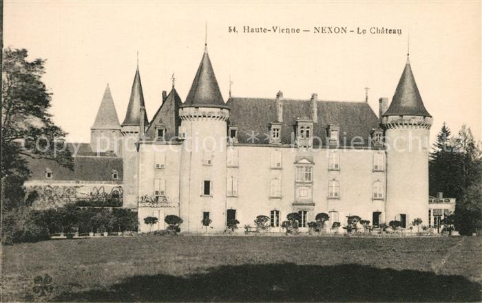 AK / Ansichtskarte Nexon Chateau Kat. Nexon