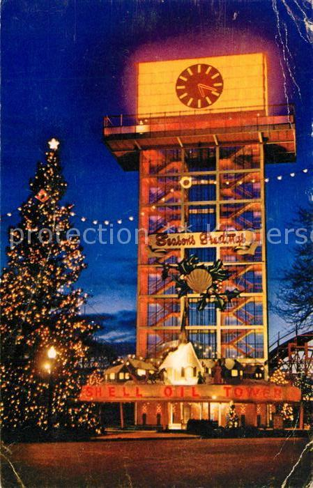 AK / Ansichtskarte Exhibition Canadian National Exhibition Grounds Toronto Ontario Shell Oil Tower  Kat. Expositions