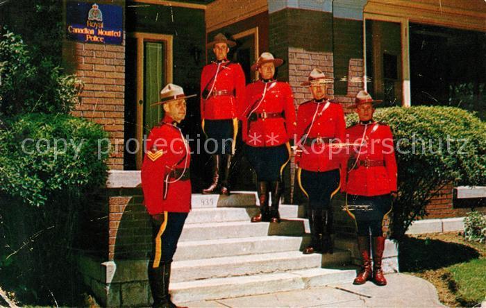 AK / Ansichtskarte Polizei Royal Canadian Mounted Police Hamilton Detachment  Kat. Polizei