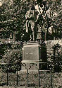 AK / Ansichtskarte Bach Johann Sebastian Denkmal Eisenach Kat. Komponist
