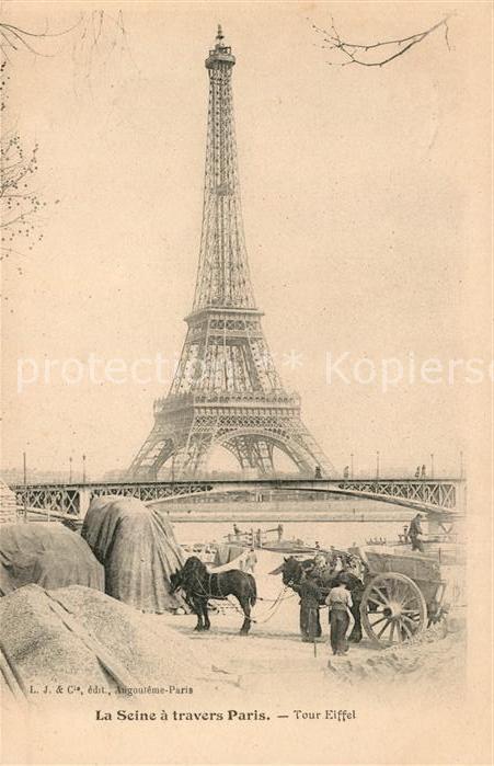 AK / Ansichtskarte Paris Tour Eiffel Kat. Paris 0