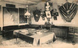 AK / Ansichtskarte Saint Maixent Sarthe Ecole Militaire Sall d`Honneur