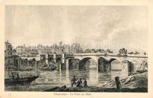 AK / Ansichtskarte Charenton le Pont Pont en 1820 Kat. Charenton le Pont