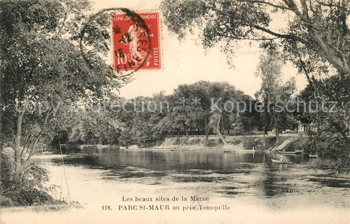 AK / Ansichtskarte Saint Maur des Fosses Parc Marne  Kat. Saint Maur des Fosses