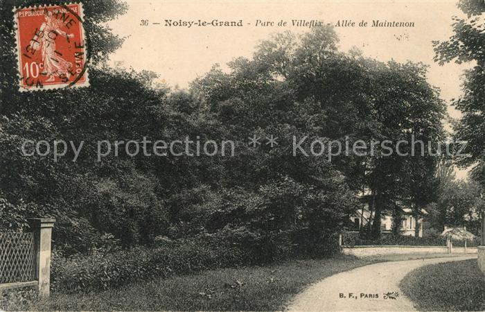 AK / Ansichtskarte Noisy le Grand Parc de Villeflix Kat. Noisy le Grand