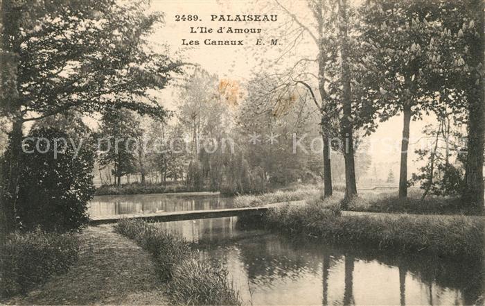 AK / Ansichtskarte Palaiseau Les Canaux Kat. Palaiseau