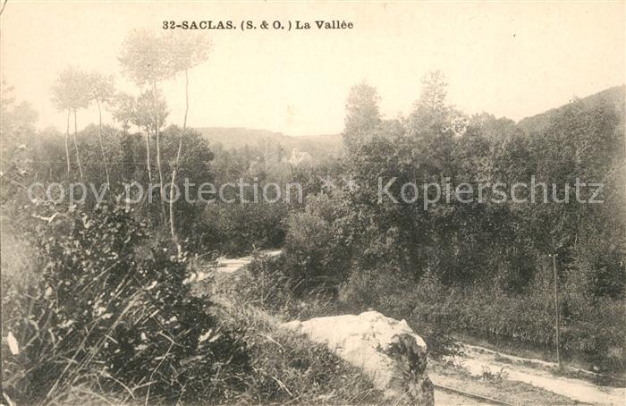 AK / Ansichtskarte Saclas La Vallee Kat. Saclas