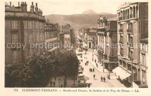 AK / Ansichtskarte Clermont Ferrand Puy de Dome Boulevard Desaix le theatre  Kat. Clermont Ferrand