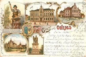 AK / Ansichtskarte Ohligs Rathaus Amtsgericht Kat. Solingen