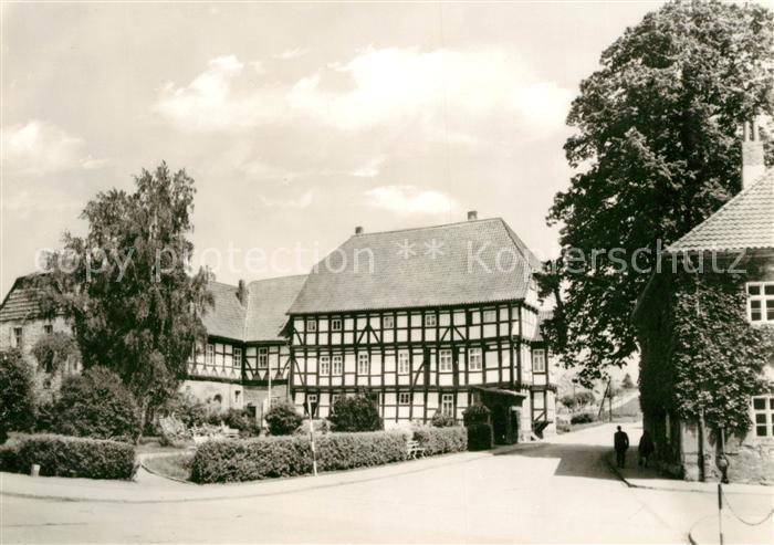 AK / Ansichtskarte Worbis Heimatmuseum Kat. Leinefelde Worbis