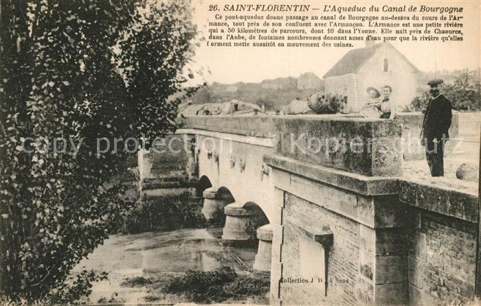 AK / Ansichtskarte Saint Florentin Yonne Aqueduc du Canal de Bourgogne Kat. Saint Florentin