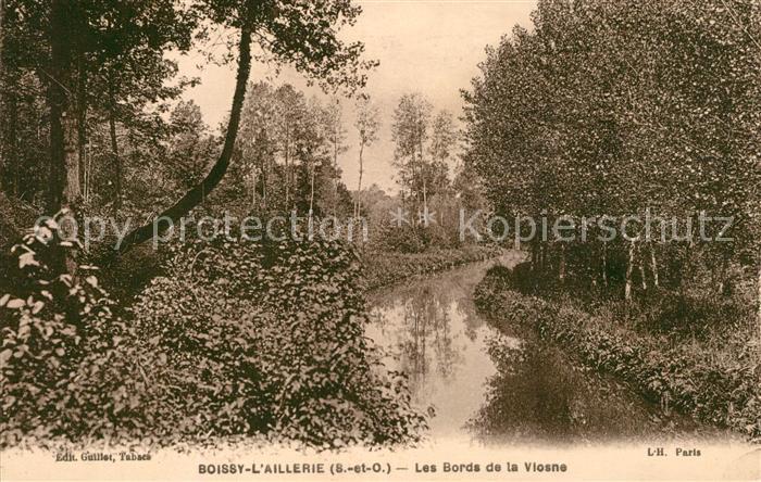 AK / Ansichtskarte Boissy l Aillerie Les Bords de la Vlosne Kat. Boissy l Aillerie