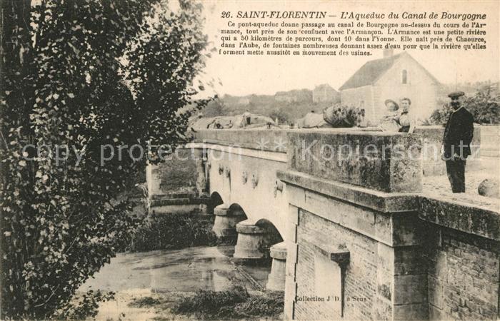 AK / Ansichtskarte Saint Florentin Yonne Aquaduc du Canal de Bourgogne Kat. Saint Florentin