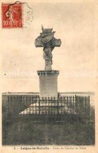 AK / Ansichtskarte Loigny la Bataille Croix du General de Sonis Kat. Loigny la Bataille