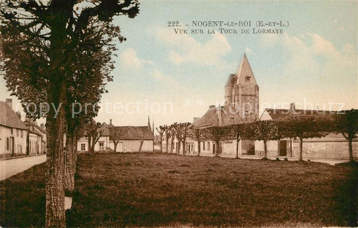 AK / Ansichtskarte Nogent le Roi Tour de Lormaye Kat. Nogent le Roi