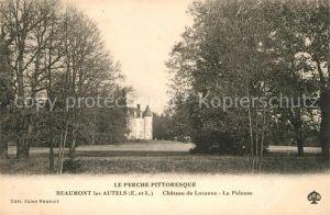 AK / Ansichtskarte Beaumont les Autels Chateau de Lozanne La Pelouse Kat. Beaumont les Autels