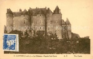 AK / Ansichtskarte Luynes Indre et Loire Chateau