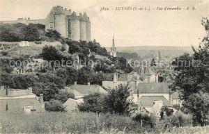 AK / Ansichtskarte Luynes Indre et Loire avec Chateau