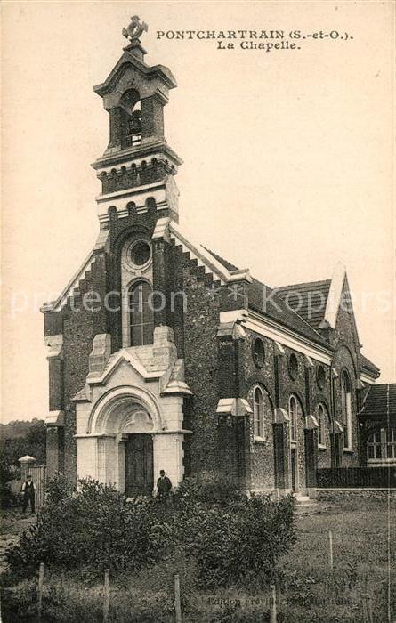AK / Ansichtskarte Pontchartrain Jouars Chapelle