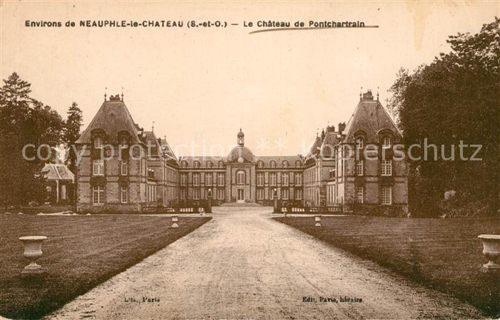 AK / Ansichtskarte Pontchartrain Jouars Chateau
