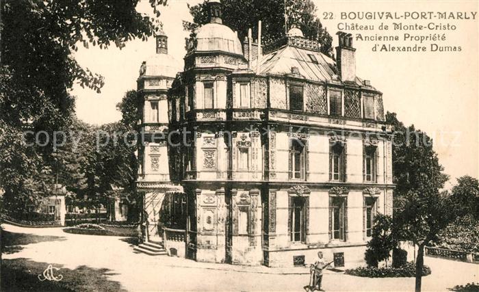 AK / Ansichtskarte Bougival Chateau de Monte Cristo Kat. Bougival