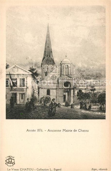 AK / Ansichtskarte Chatou Ancienne Mairie Kat. Chatou