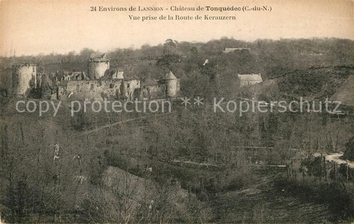 AK / Ansichtskarte Tonquedec Vue prise de la Route de Kerauzern Kat. Tonquedec
