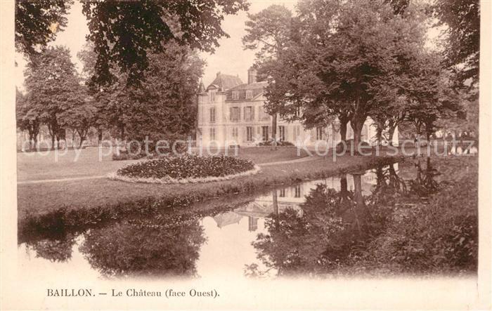 AK / Ansichtskarte Viarmes Chateau Saint Baillon Kat. Viarmes