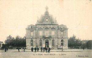 AK / Ansichtskarte Saint Maur Beauvais Parc Saint Maur La Mairie Kat. Saint Maur