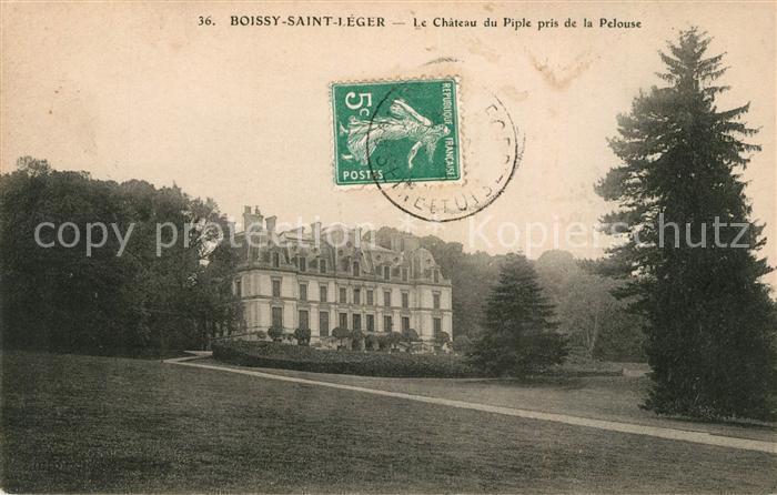 AK / Ansichtskarte Boissy Saint Leger Le Chateau du Piple pris de la Pelouse Kat. Boissy Saint Leger