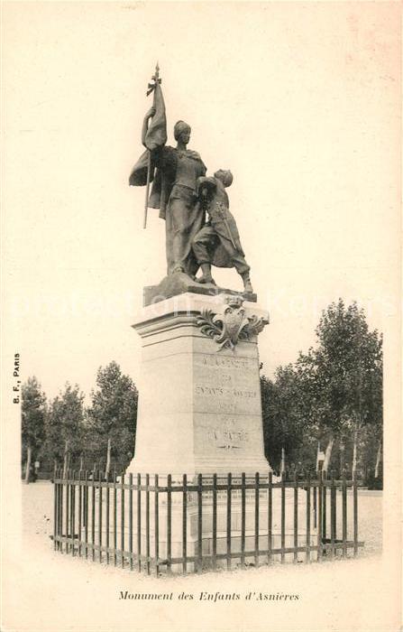 AK / Ansichtskarte Asnieres Eure Monuments des Enfants  Kat. Asnieres